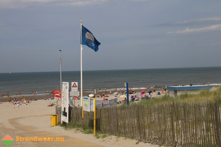 Strandweer voor maandag 25 september