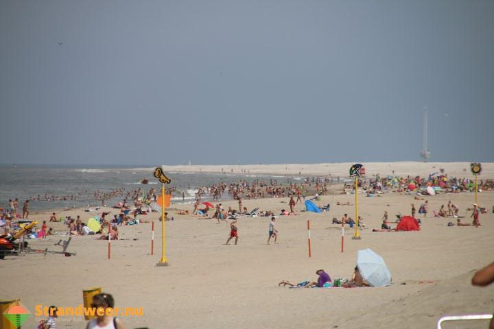Strandweer voor donderdag 20 juli
