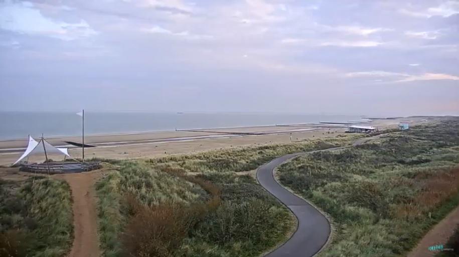 Strandweer voor zaterdag 4 november