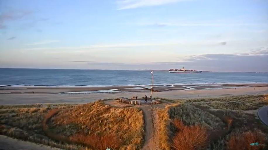 Wisselvallig strandweer voor vrijdag 20 oktober