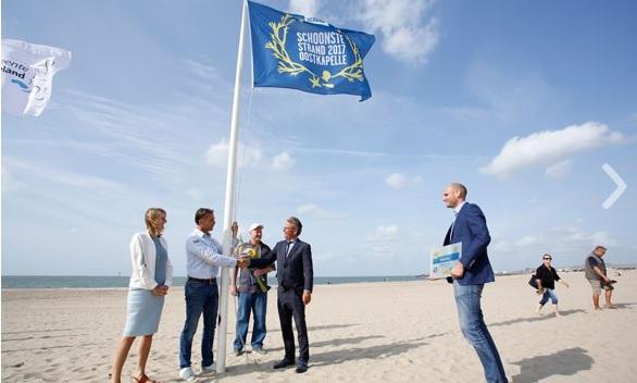 Oostkapelle schoonste strand van Nederland