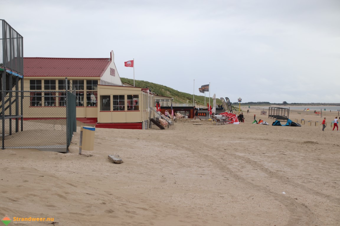 Het strandweer voor maandag 19 augustus