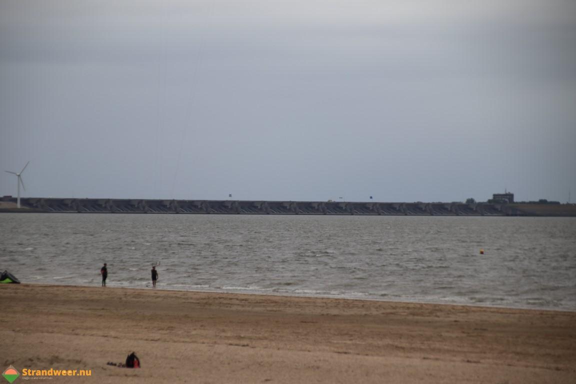 Het strandweer voor het 4e weekend van november