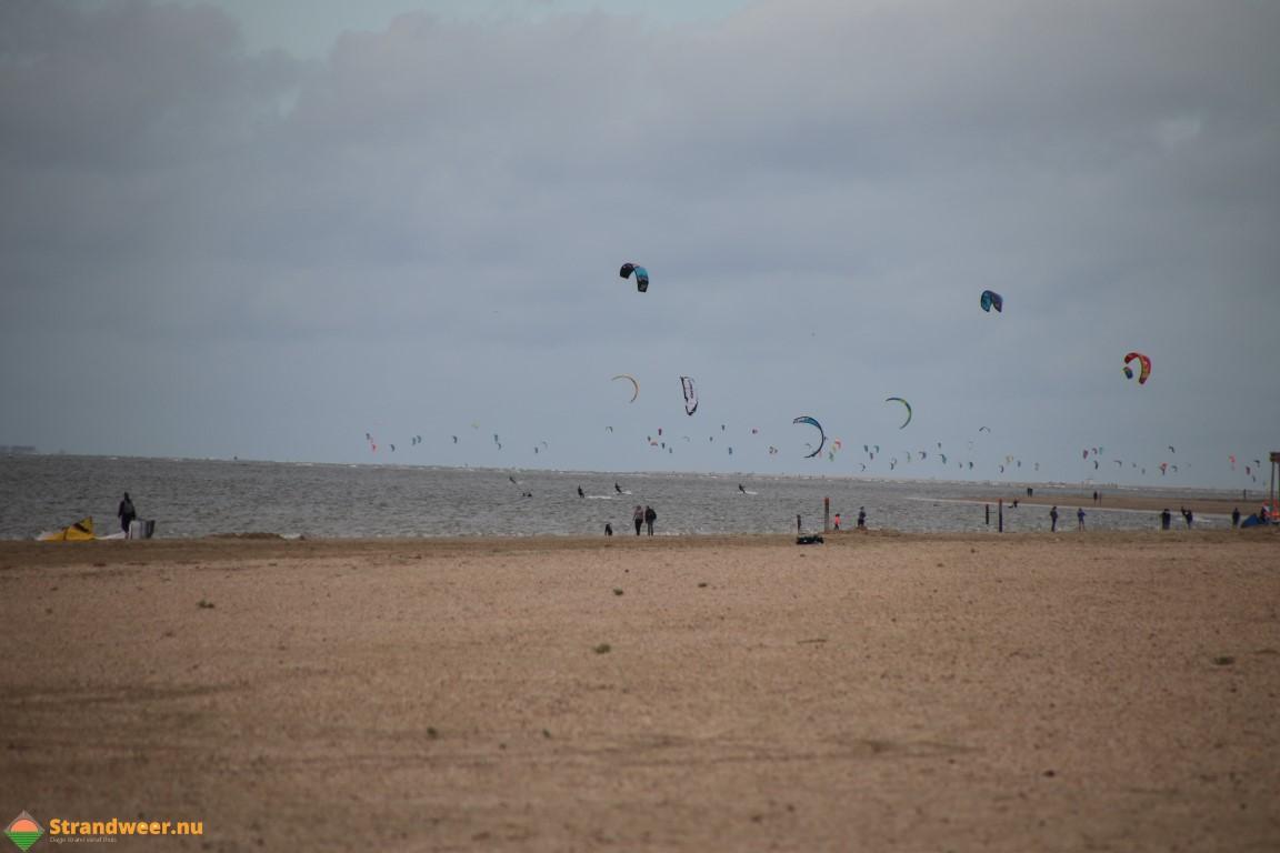 Het strandweer voor zondag 12 januari