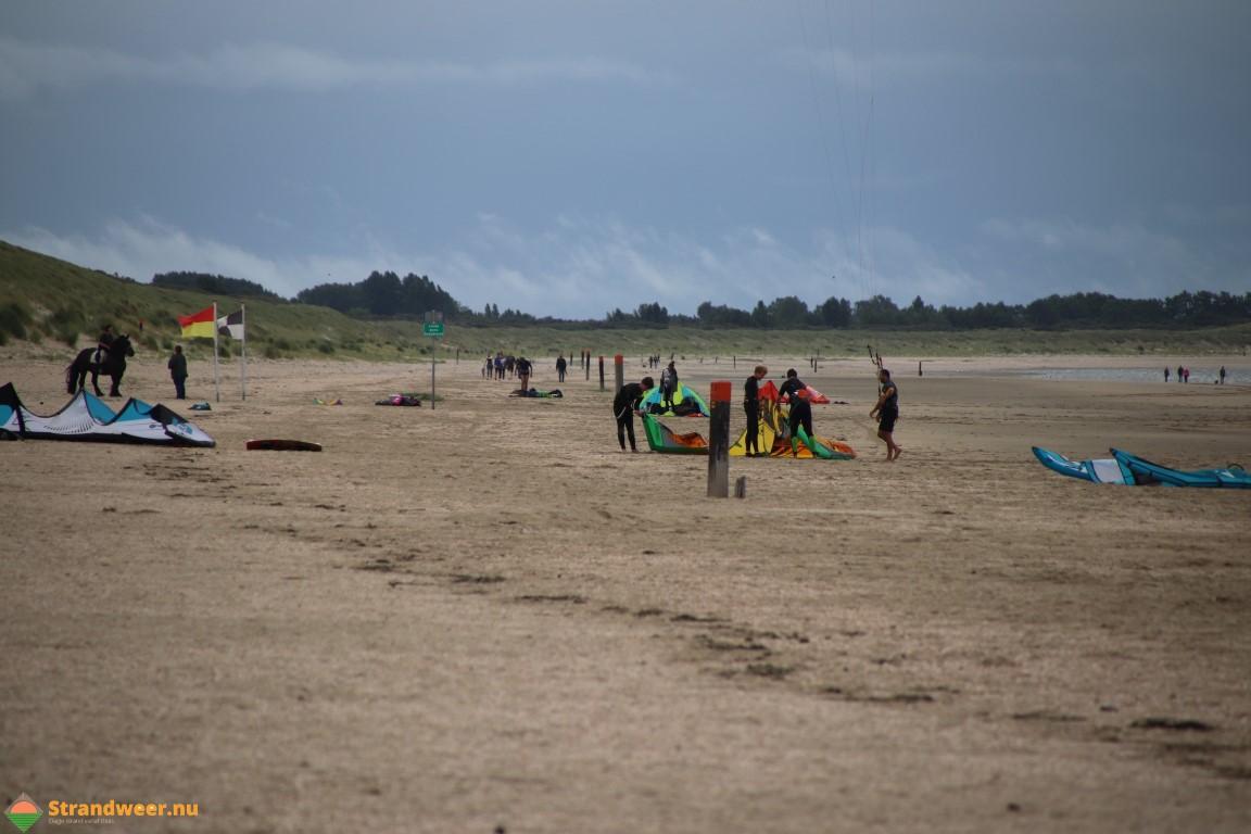 Het strandweer voor zondag 18 augustus