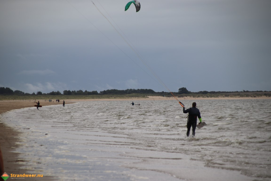 Het strandweer voor woensdag 15 januari