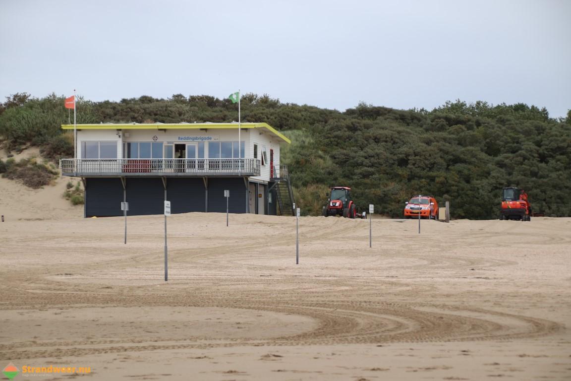 Onstuimig strandweer voor dinsdag 14 januari