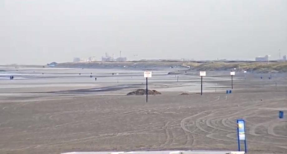 Het strandweer voor woensdag 11 december