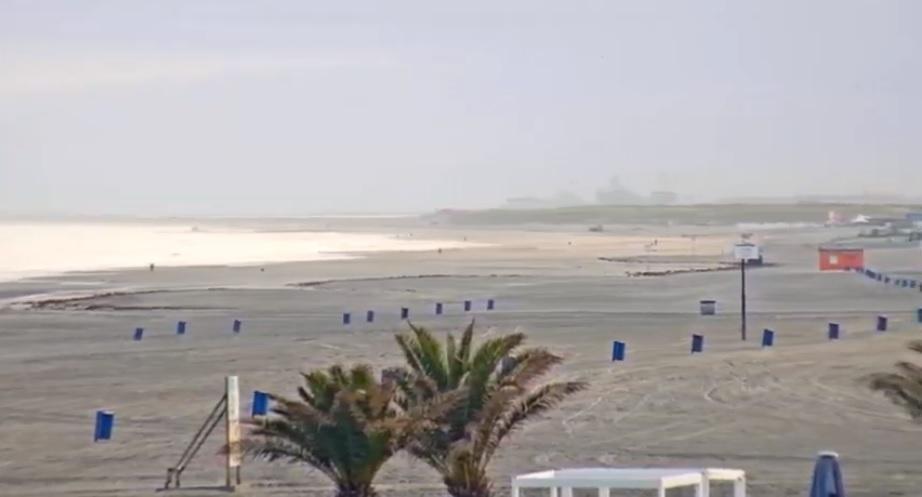 Het strandweer voor donderdag 12 september