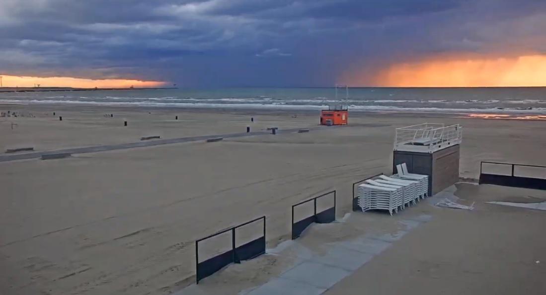 Het strandweer voor woensdag 14 augustus