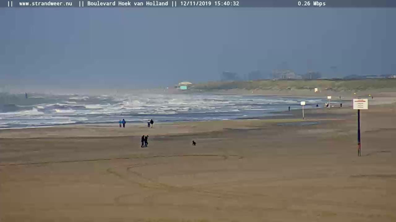 Het strandweer voor woensdag 13 november