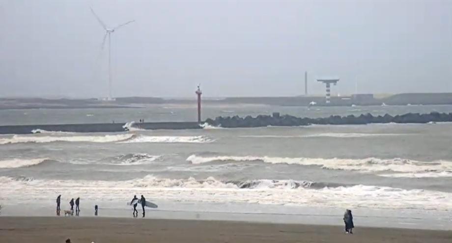 Het strandweer voor maandag 16 december