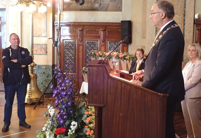 KNRM'er Edwin Zegers Lid in de Orde van Oranje-Nassau
