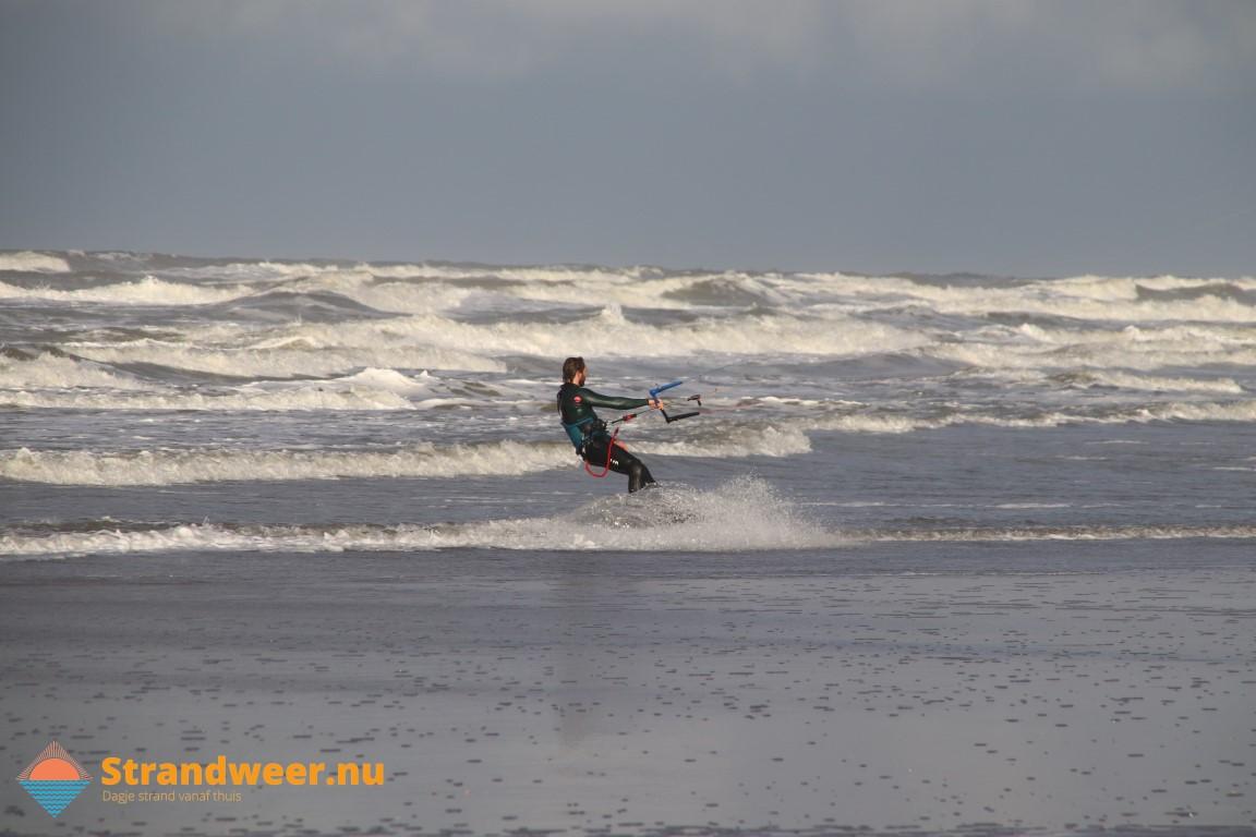 Het strandweer voor vrijdag de 13e december