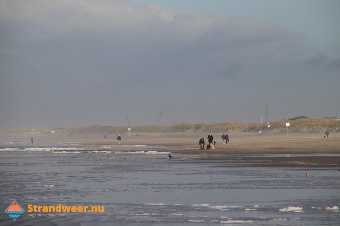 Het strandweer voor zondag 1 december