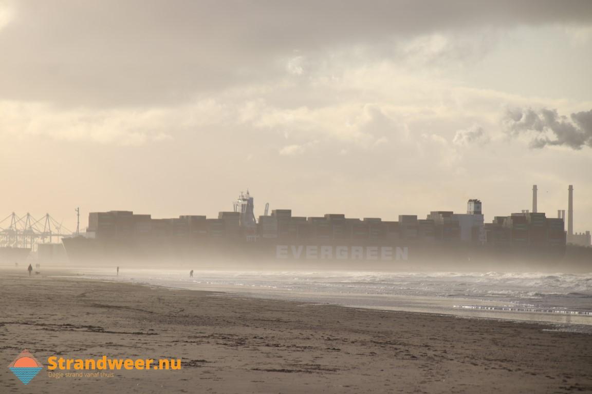 Het strandweer voor maandag 2 november