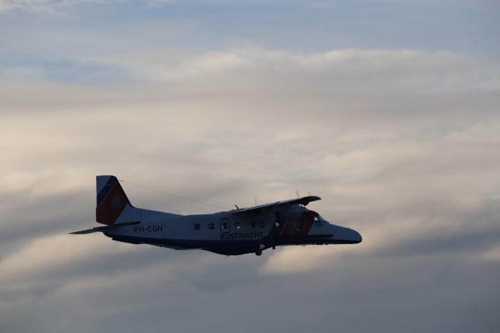 Inspectievluchten boven de Noordzee