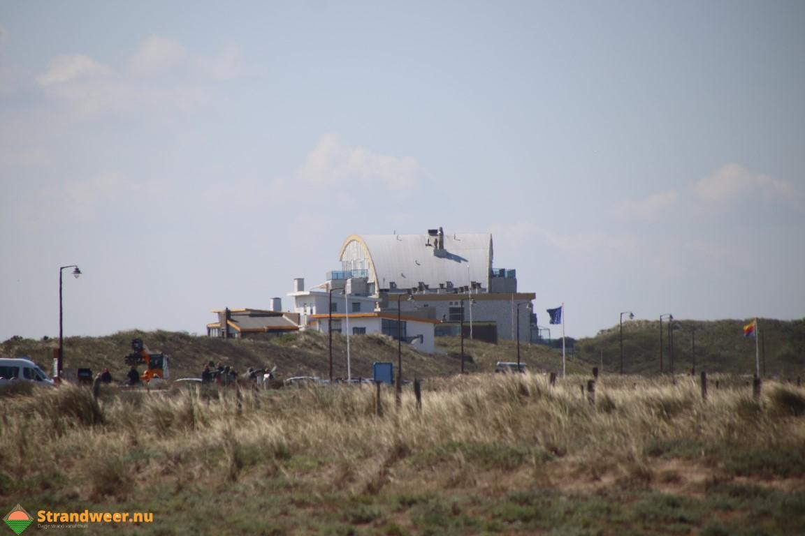 Het strandweer voor het laatste weekend van oktober