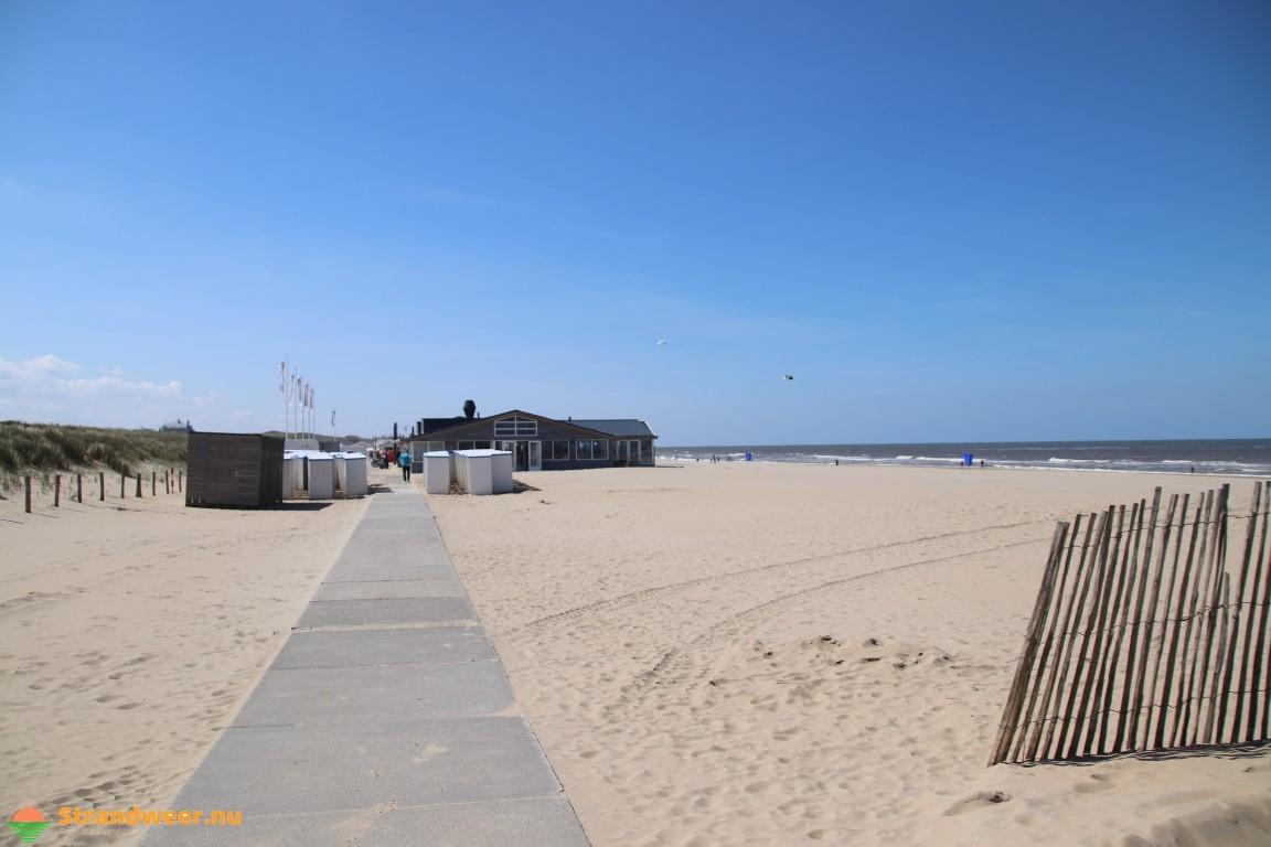 Mooi strandweer voor maandag 13 mei