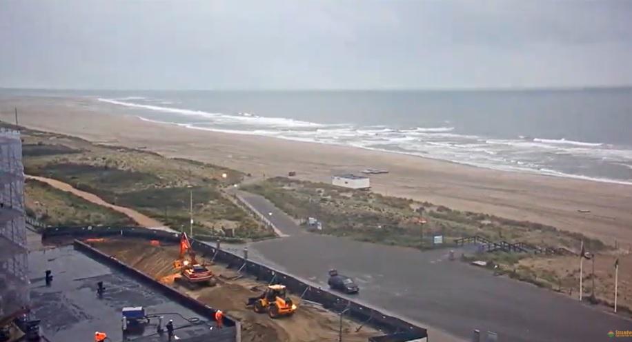 Het strandweer voor woensdag 6 november
