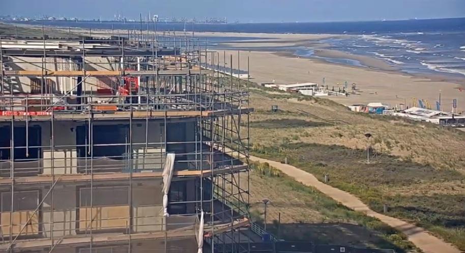 Webcam Kijkduin wordt verplaatst voor nieuwbouw