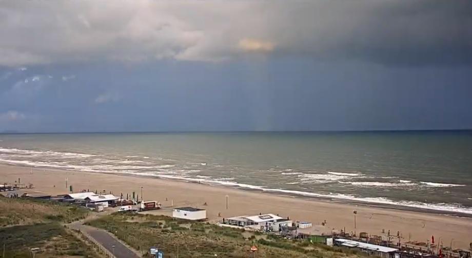 Het strandweer voor het 1e weekend van september