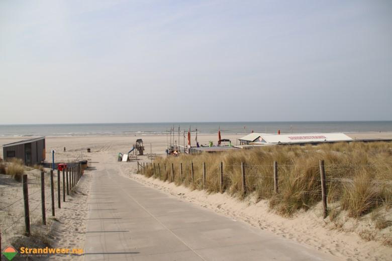 Het strandweer voor het eerste weekend van november