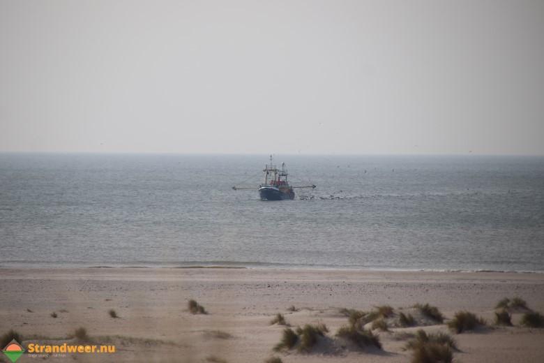 Tussentijdse waarschuwing voor visserskotters