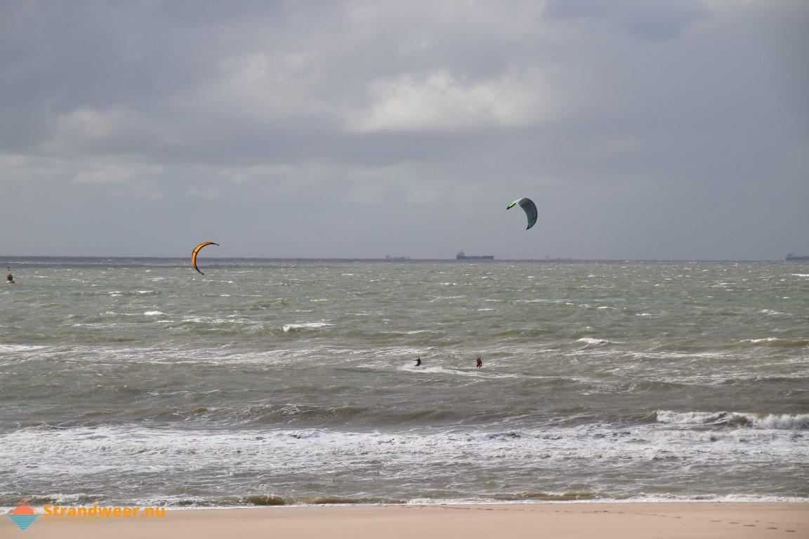 Het strandweer voor het tweede weekend van oktober