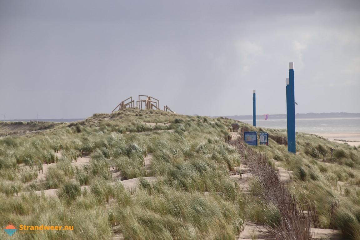 Het strandweer voor maandag 21 oktober