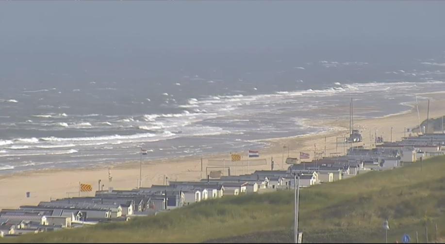 Het strandweer voor eerste weekend van juli