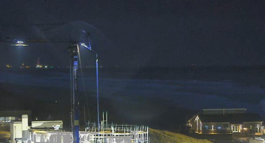 Onstuimig strandweer voor maandag 9 november