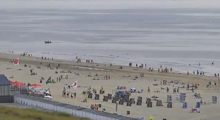 Het strandweer voor dinsdag 25 juni