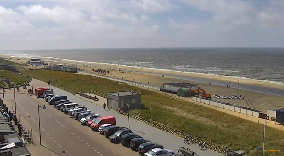 Webcam Egmond aan Zee online op Strandweer.nu