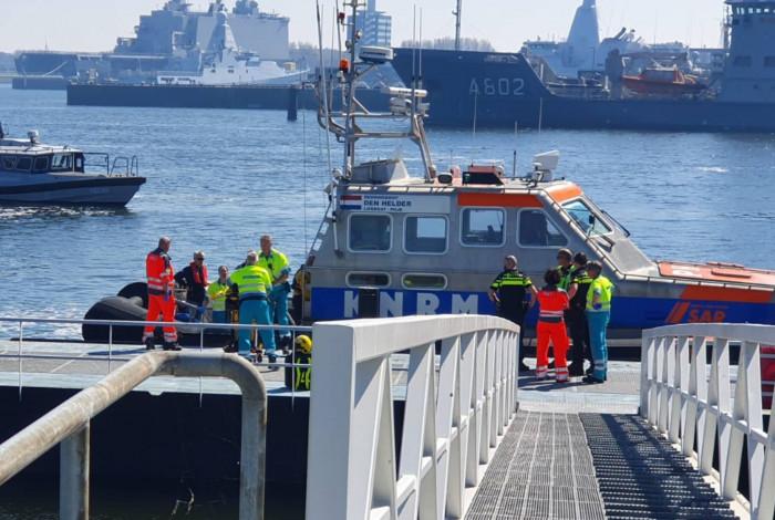 Levensreddende zoekactie op de Noordzee