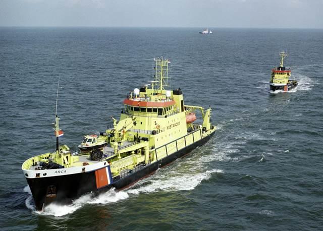 Onderzoek naar oliebestrijding op de Noordzee