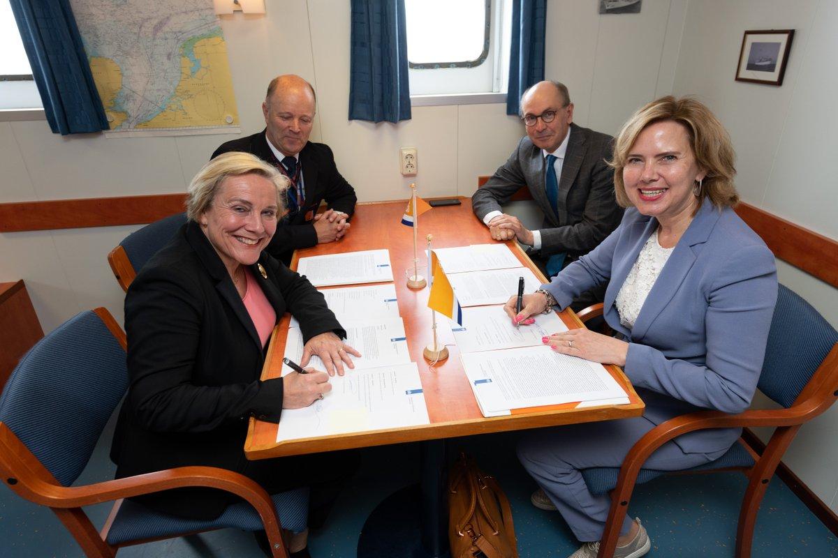 Ondertekening regeling voor de Kustwacht