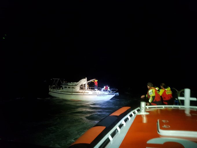 Aanvaring met schade op de Noordzee