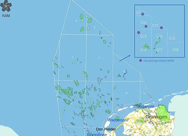 NAM mag zoeken naar nieuwe gasvelden in Noordzee