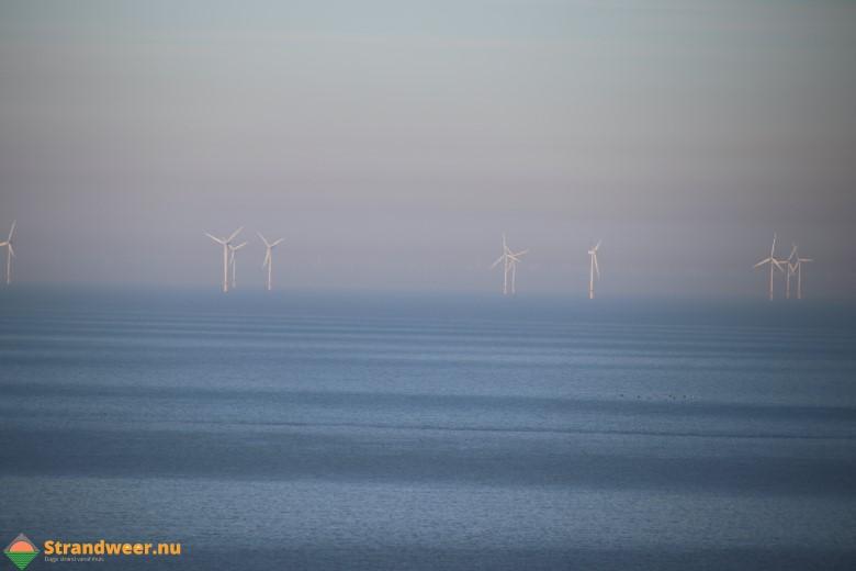 Nieuwe windmolenparken op zee