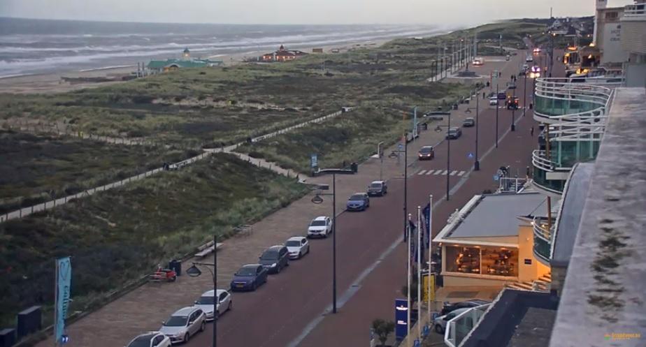 Boerenprotest bij Hotel van Oranje in Noordwijk