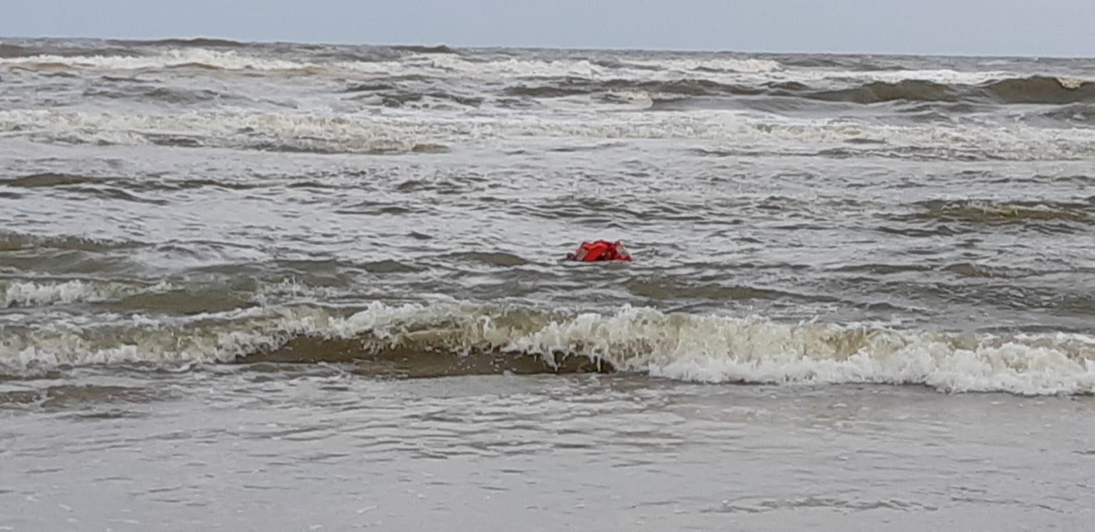 Verdrinking in zee blijkt oefenpop