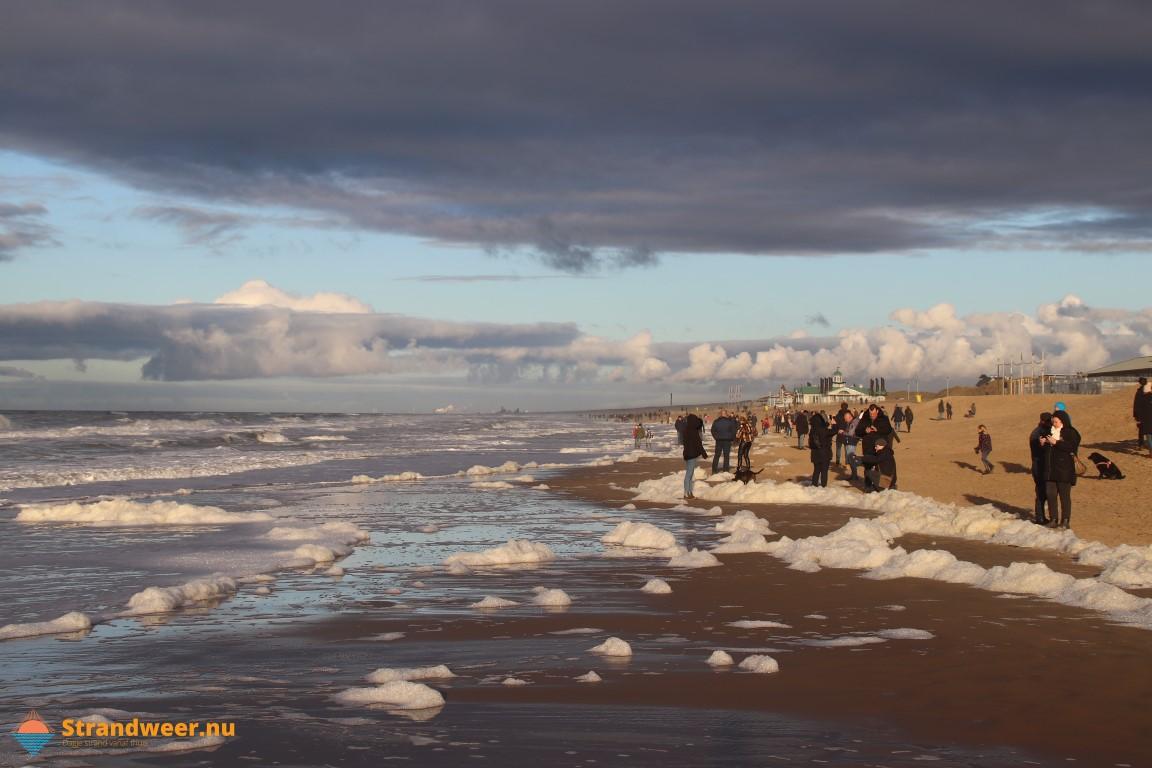 Het strandweer voor tweede kerstdag