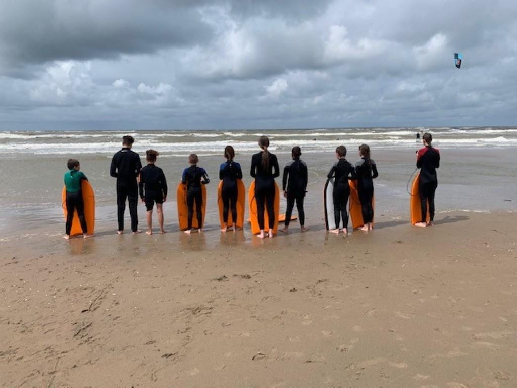 Watersportdag voor jongeren in Noordwijk
