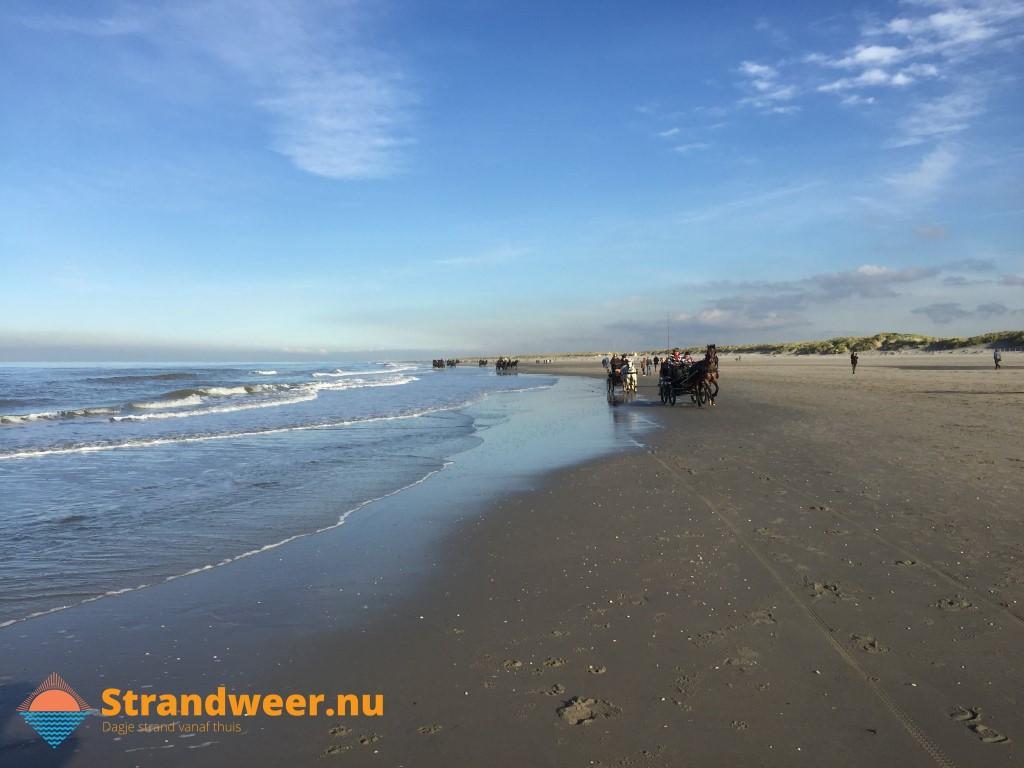 Het strandweer voor maandag 18 november
