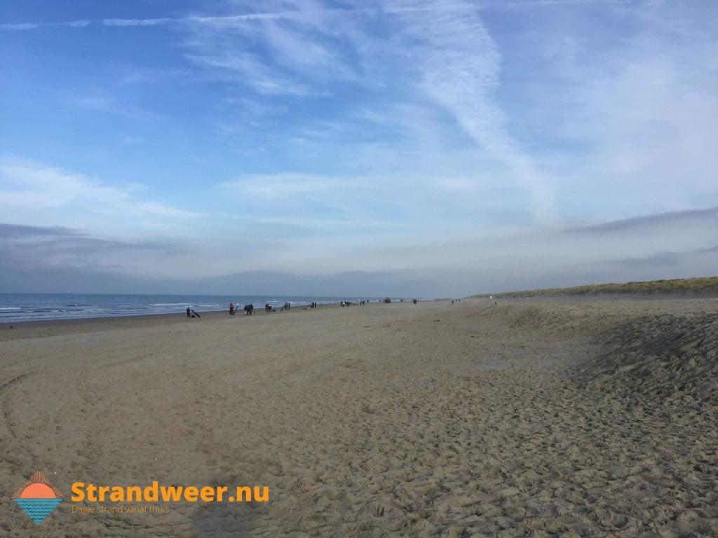 Het strandweer voor woensdag 27 november