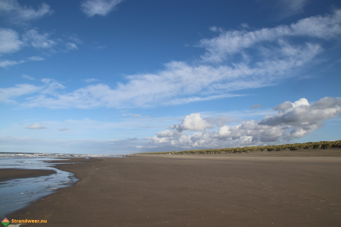 Het strandweer voor donderdag 7 november