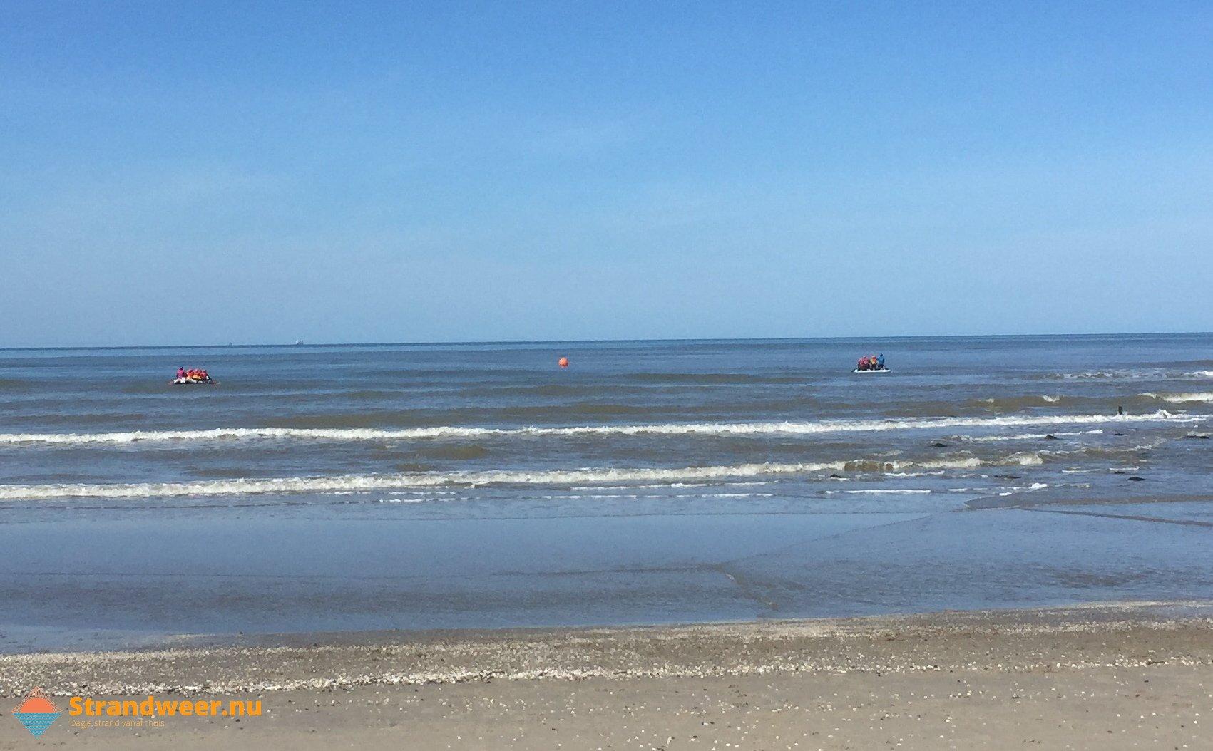 Het strandweer voor zondag 15 september