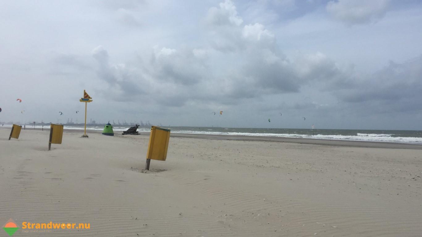 Het strandweer voor maandag 12 augustus