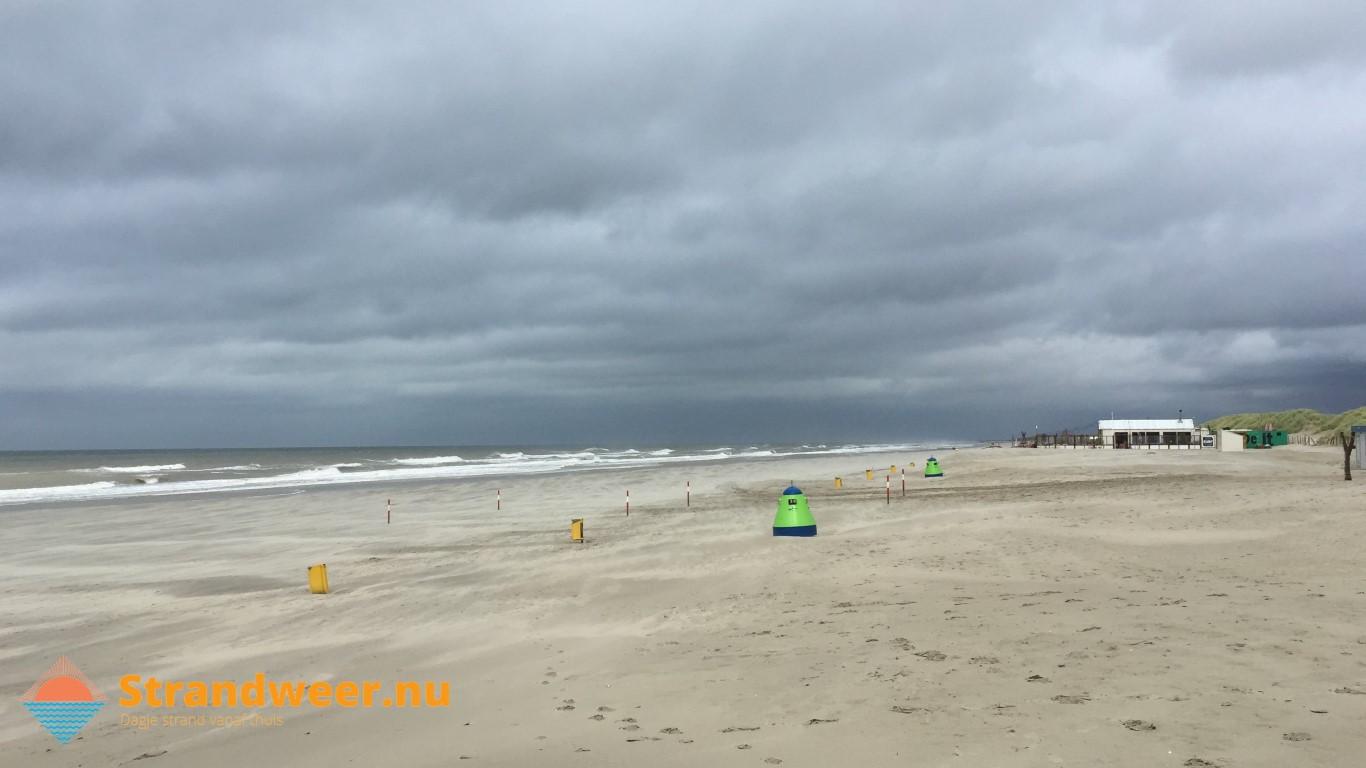 Het strandweer voor maandag 30 september
